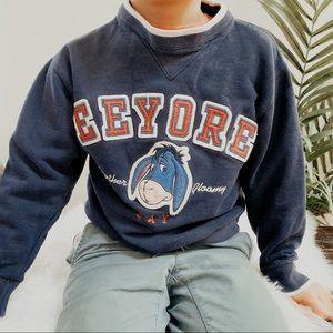 Kids Vintage Disney Eeyore Sweater
